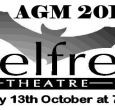 The Belfrey Theatre's Annual General Meeting will take place on Friday 13th October at 7.00 pm. Updated:Monday, October 16, 2017