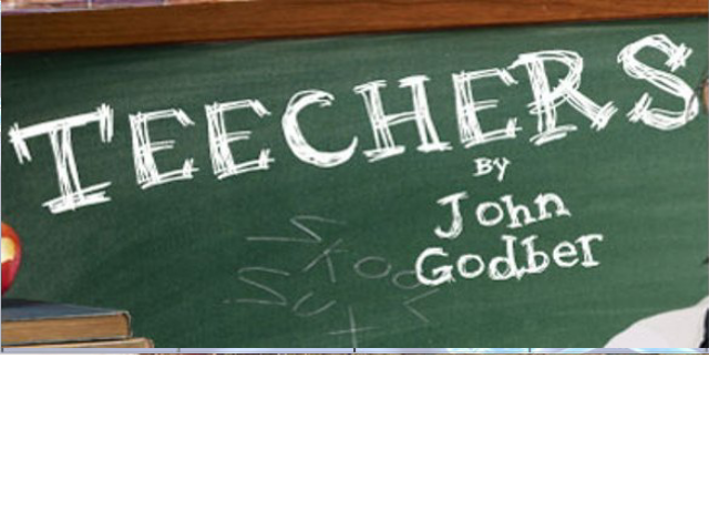 Belfrey Players present John Godber's riotous classroom comedy TEECHERS. BOX OFFICE: 01952 222277 or  email – boxoffice@belfreytheatre.com Doors open at 7.00. Curtain up at 7.30
