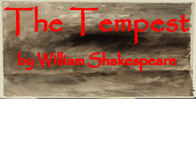 In Shakespeare's magical play, drama, mystery, romance and comedy combine to create the story of an overthrown Duke and his desire for justice. 10th – 12th July 2014. Evenings at 7.30  BOX OFFICE:- boxoffice@belfreytheatre.com or 01952 222277